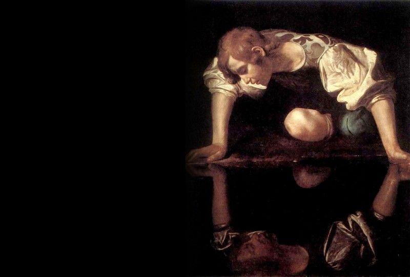 Due Narcisi, due misure. Marino e Renzi | Caravaggio, Immagini, Artisti