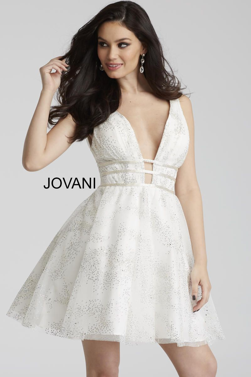 Jovani revealing short party dress eye chatchİng clothes