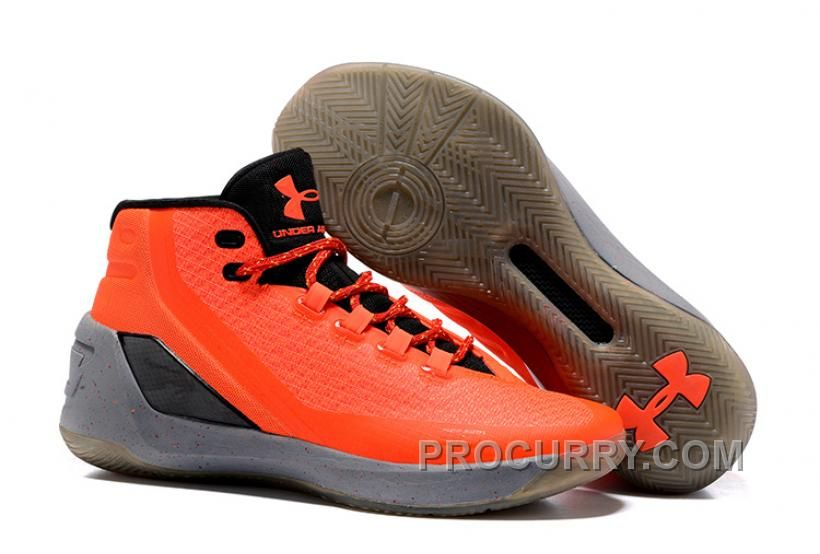 size 40 814ee 63dc7 Under Armour Stephen Curry 3 Shoes Orange