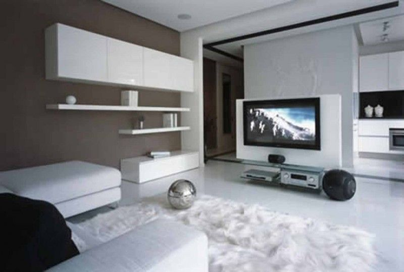 Small Apartments Decorating Ideas White Apartment