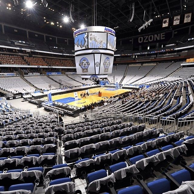 Orlando Magic Orlando Magic Nba Arenas Amway Center