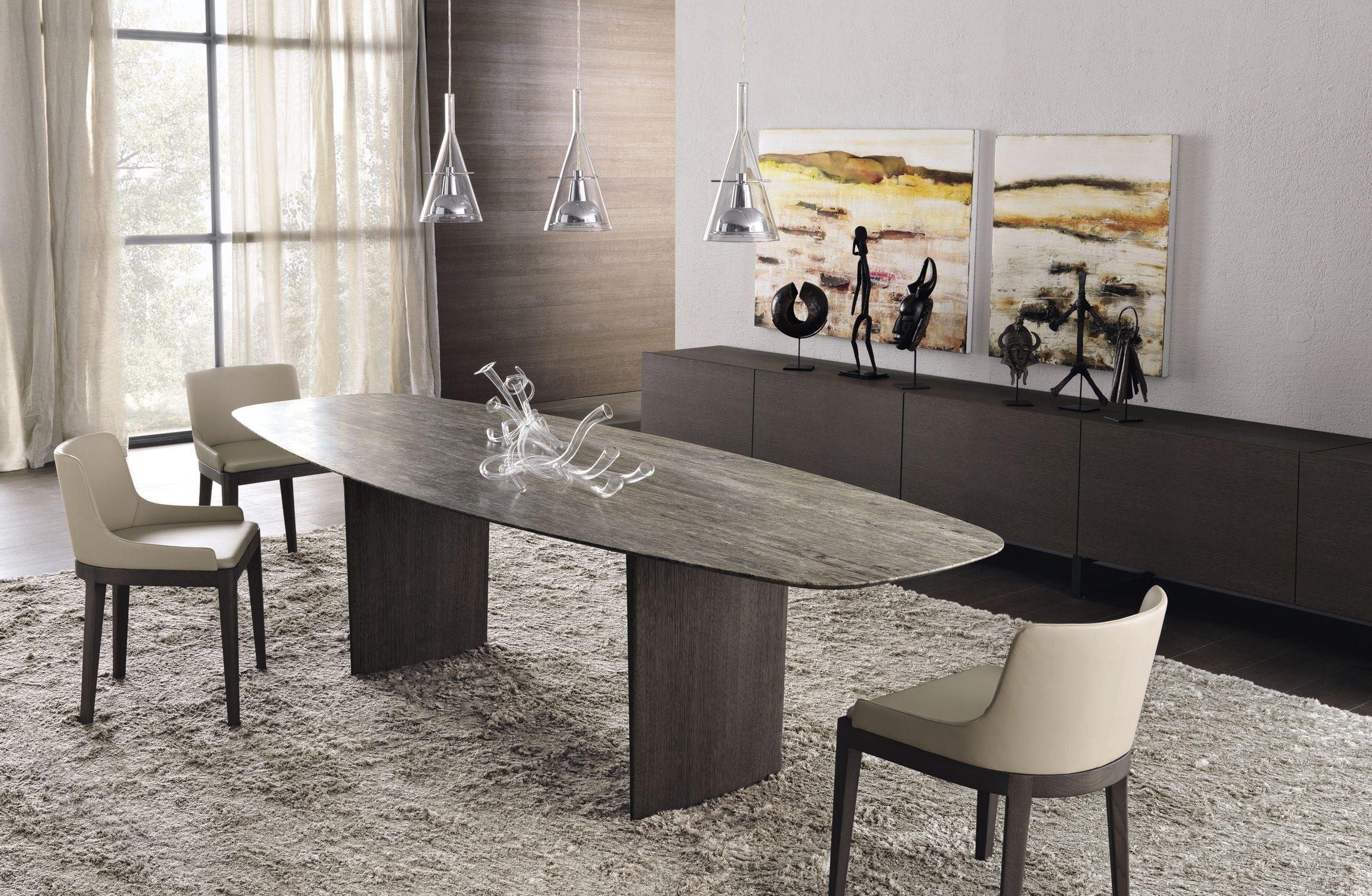 Tavolo moderno / in vetro / in quercia / in marmo ALA by ...
