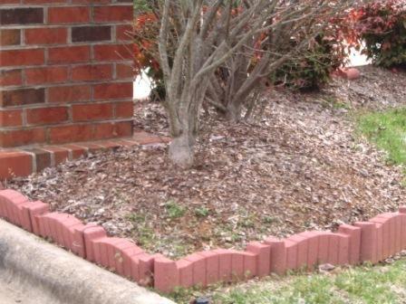 Bricks To Use For Landscaping Red Brick Edging Landscape