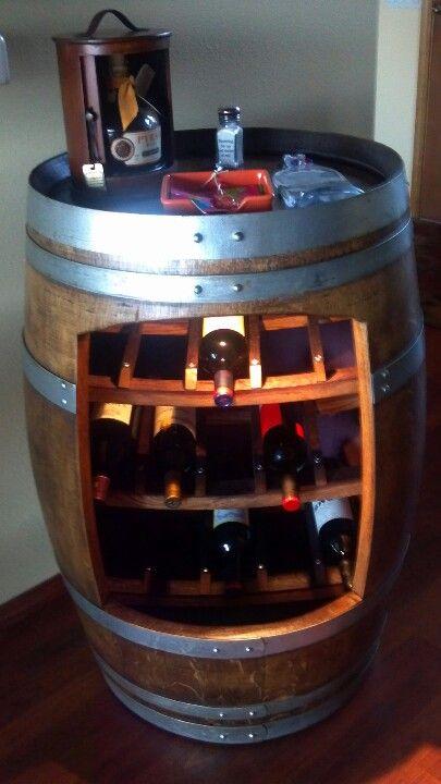 Idee Per Arredamento Con Botti In Legno Usate Home Diy Bar