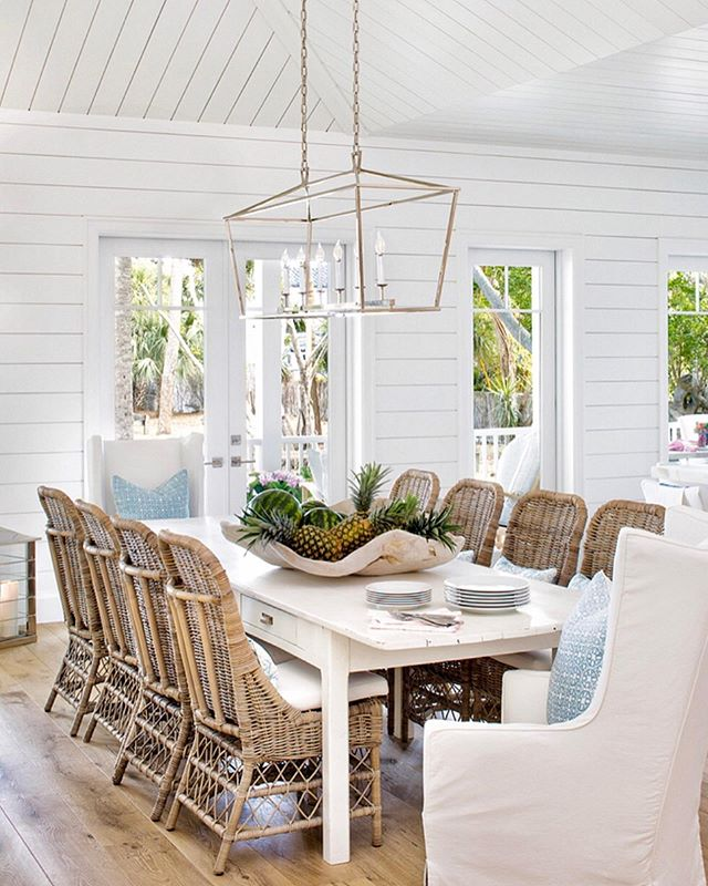 Instagram With Images Cottage Dining Rooms Coastal Dining