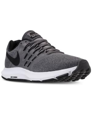 the best attitude 0e79f 05494 Nike Men s Run Swift Running Sneakers from Finish Line - Black 10