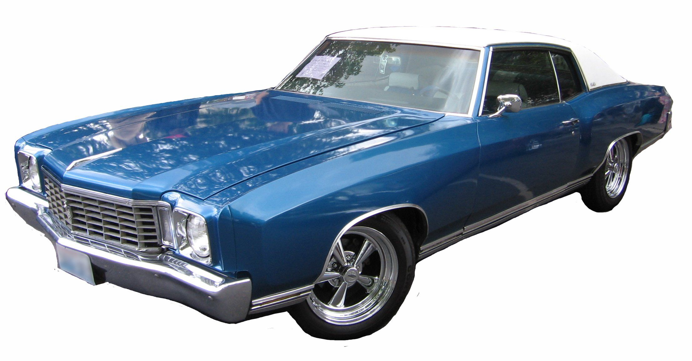 1972 Chevy Monte Carlo could do without the soft top, cant wait to ...