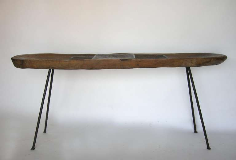 Batea Console | From a unique collection of antique and modern console tables at http://www.1stdibs.com/furniture/tables/console-tables/