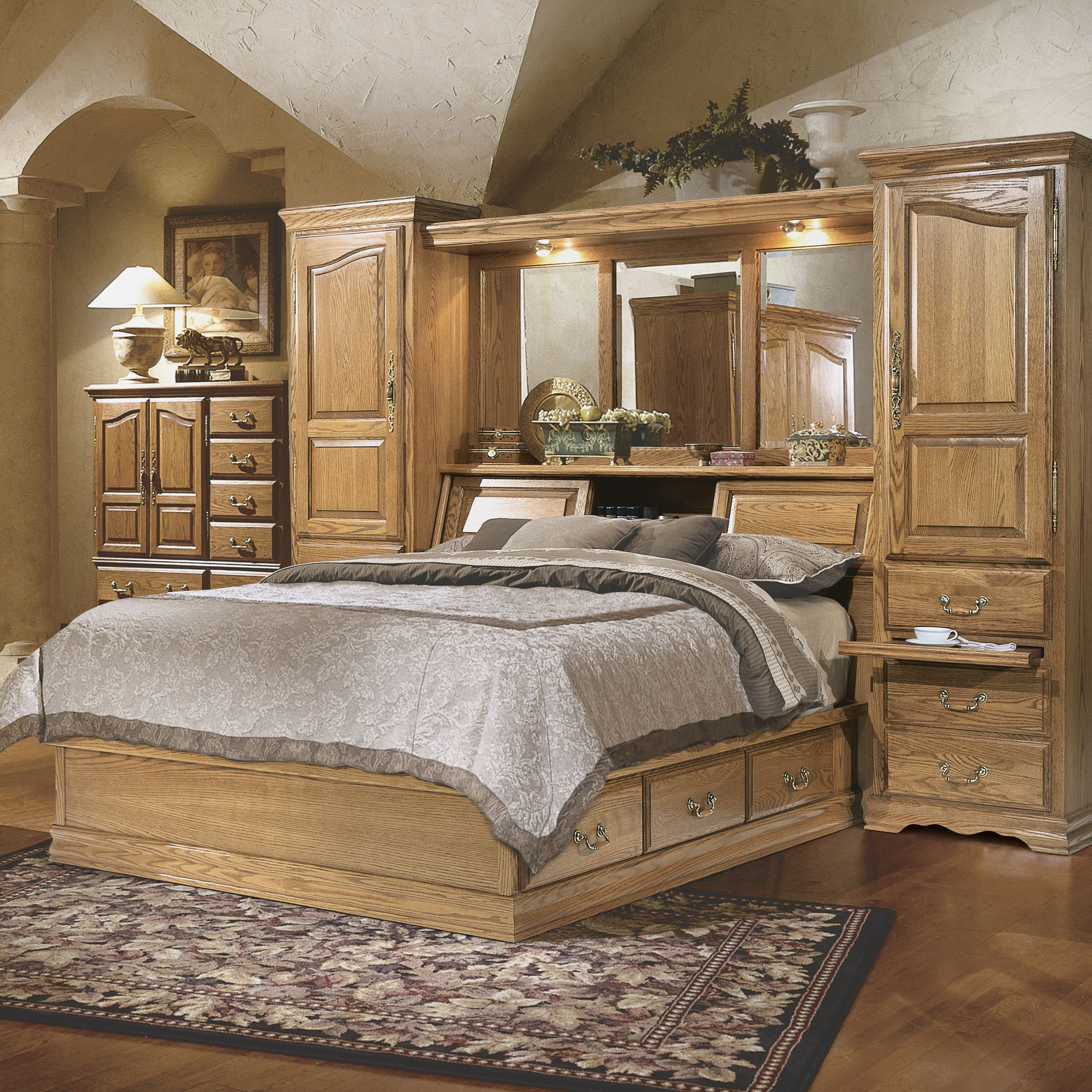 Masterpiece Pier Group bedroom set provides maximum