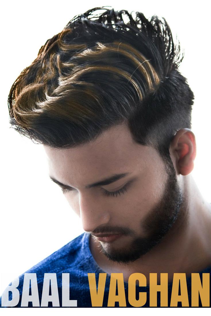 hairstyles for medium length hair men & boys 2018 ideas