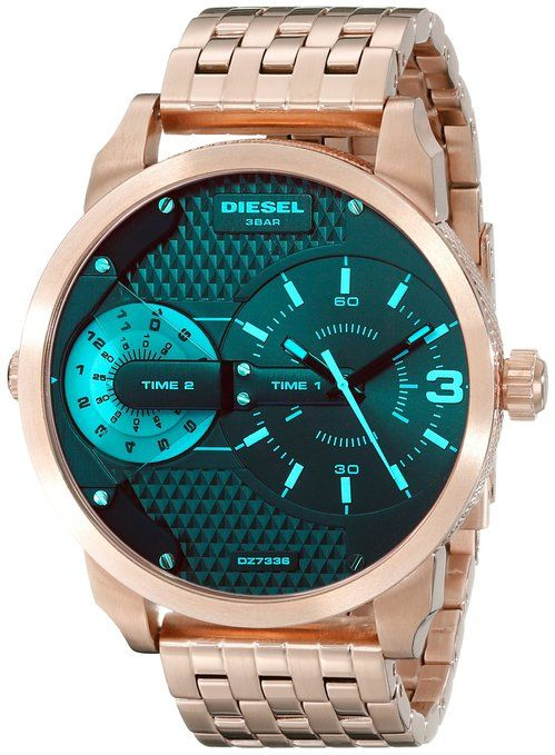 a15c146db091 Diesel Mini Daddy % Relojes Hombres