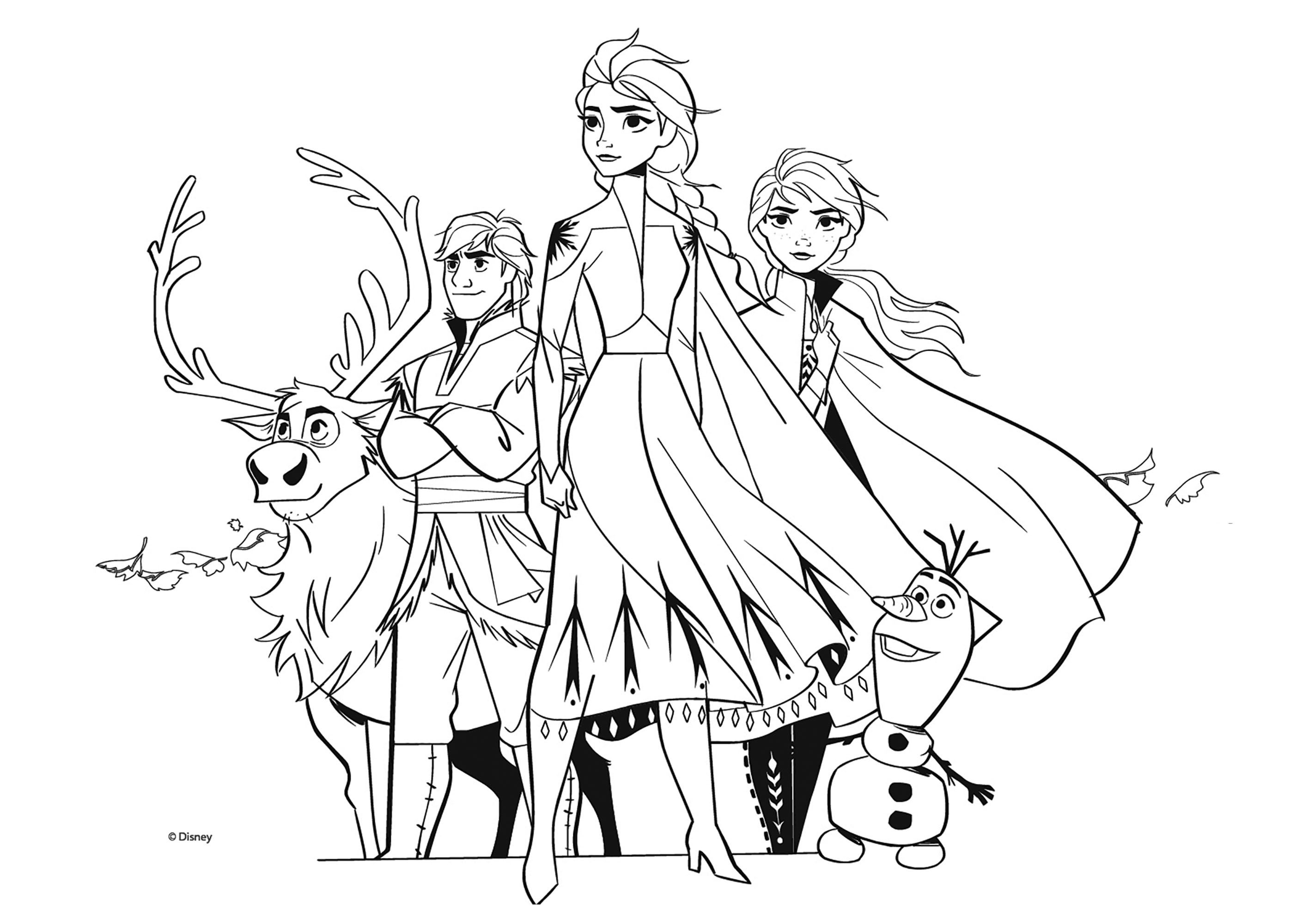 Frozen 2 To Print Simple Frozen 2 Coloring Page For Children From The Gallery Frozen 2 Just In 2020 Coloring Pages Frozen Coloring Pages Coloring Pages For Kids