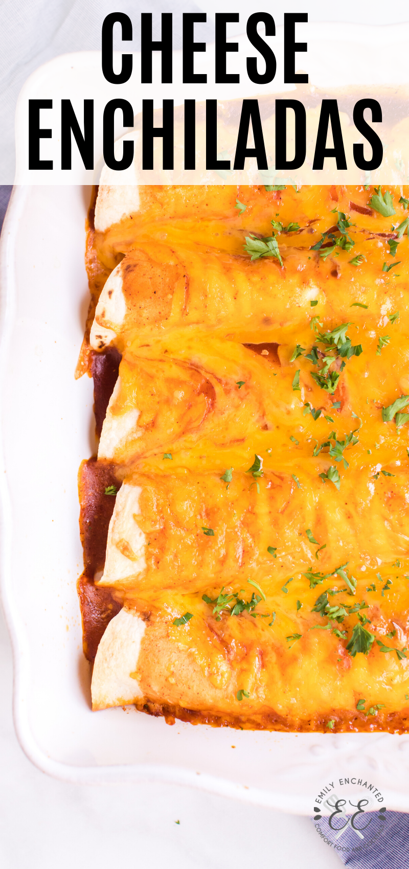 Easy Cheese Enchiladas Recipe With Sour Cream And Enchilada Sauce In 2020 Recipes With Enchilada Sauce Cheese Enchiladas Best Mexican Recipes