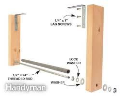 Image Result For Extension Ladder Storage Garage Ceiling Garage Organization Diy Ladder Storage Storage