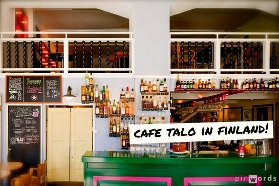 The awesome Cafe Talo has begun to utilize the Playmysong app for their music streaming