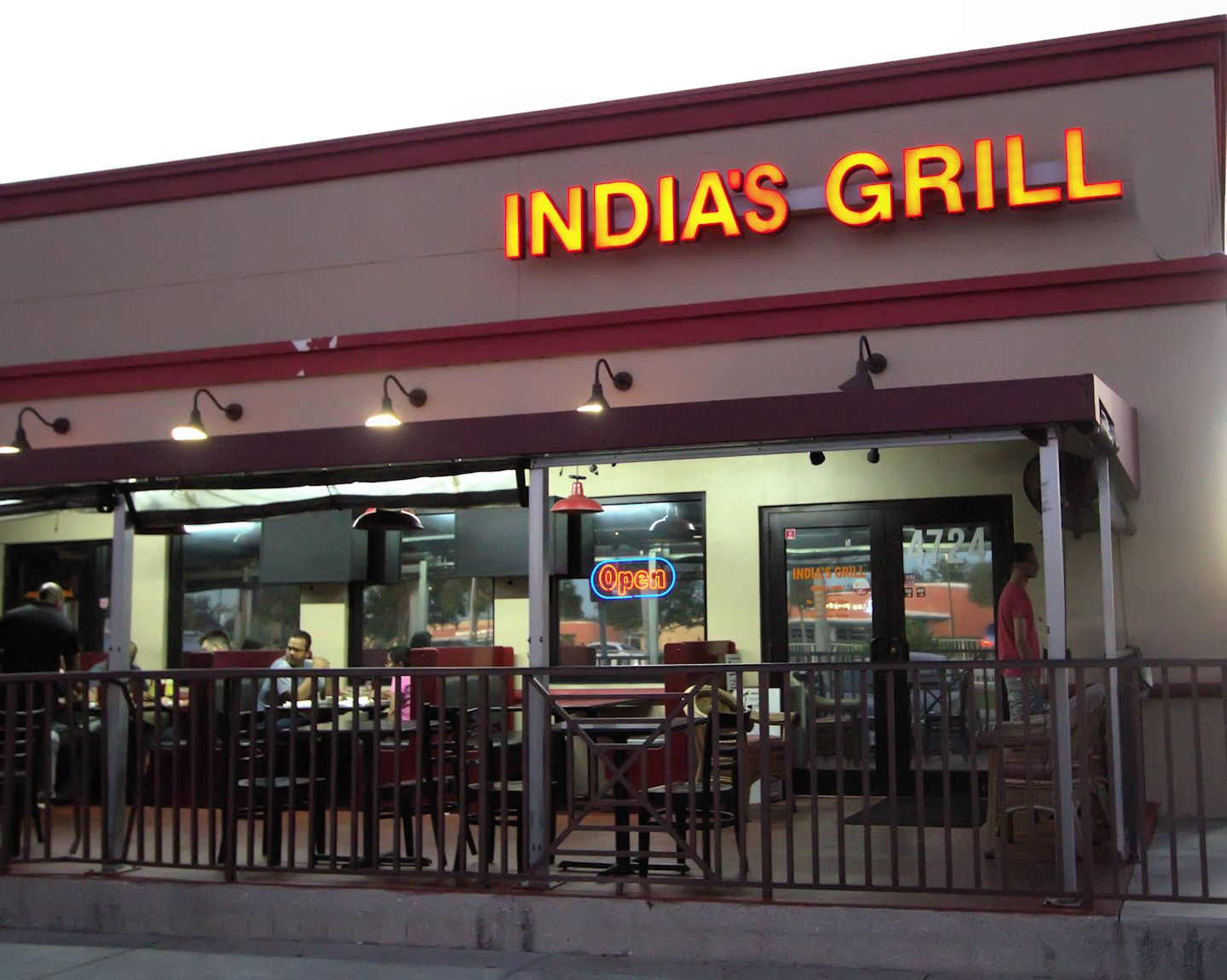 Dinner at India's Grill (With images) Grilling, Dinner