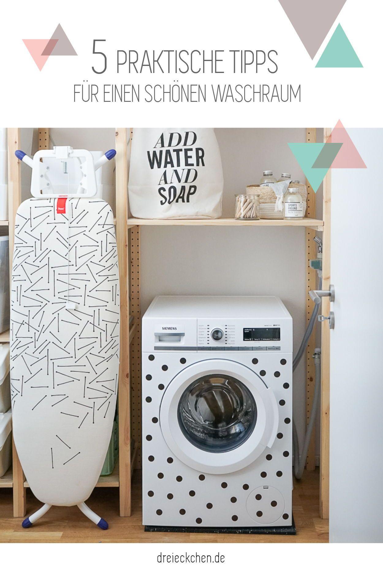 Waschekorbe Bugelbrett Und Waschmittel Praktische Tipps Wie Ihr Euren Waschraum Schon Einrichten Konnt Aufbewahrung Waschmittel Waschraum Wasche