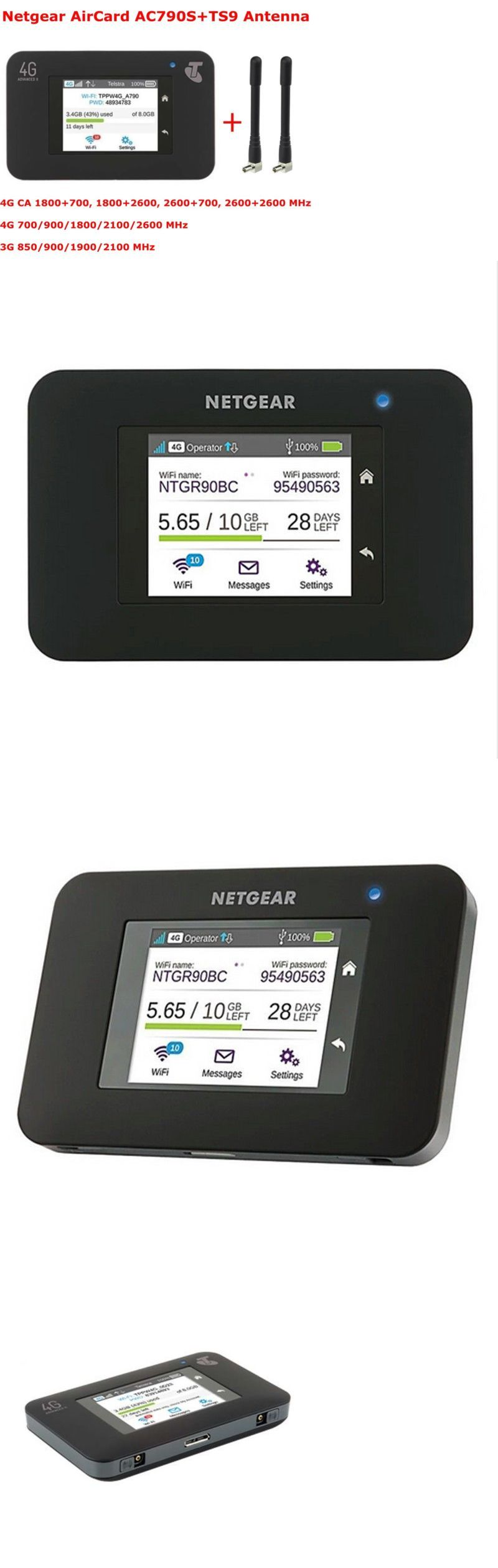 Mobile Broadband Devices 175710: Unlocked Netgear Aircard 790S