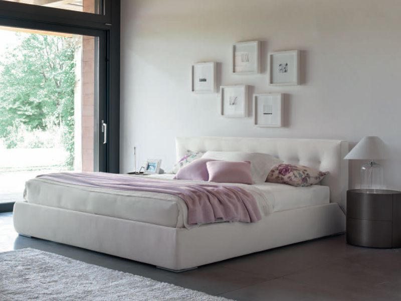 Feg Mobili ~ Upholstered double bed celine by feg mobili design paolo salvadè
