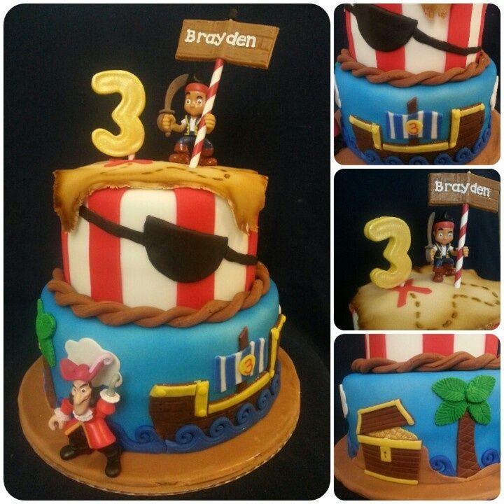 jake the pirate cake ideas Buscar con Google Jake birthday theme