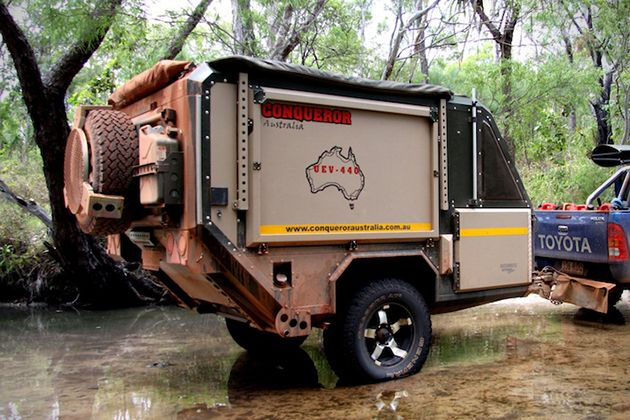 Conqueror UEV 440 Camper Trailer 4 Best 4x4 Camping Ever