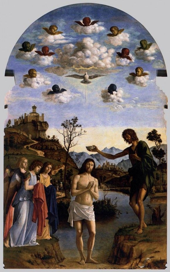 """""""The thoughts of the Church today are fixed on the Baptism of our Lord in the Jordan, which is the second of the three Mysteries of the Epiphany. The Emmanuel manifested himself to the Magi, after having shown himself to the Shepherds; but this manifestation was made within the narrow space of a stable at Bethlehem, and the world knew nothing of it. In the Mystery of the Jordan, Christ manifested himself with greater publicity."""" ~ Dom Gueranger"""