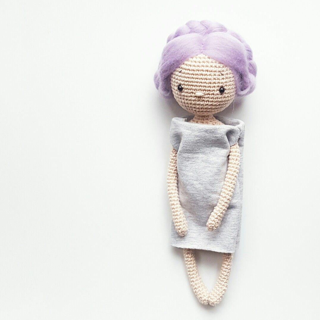 Lea Amigurumi Crochet Doll Pattern Amalou.Designs | need to do ...