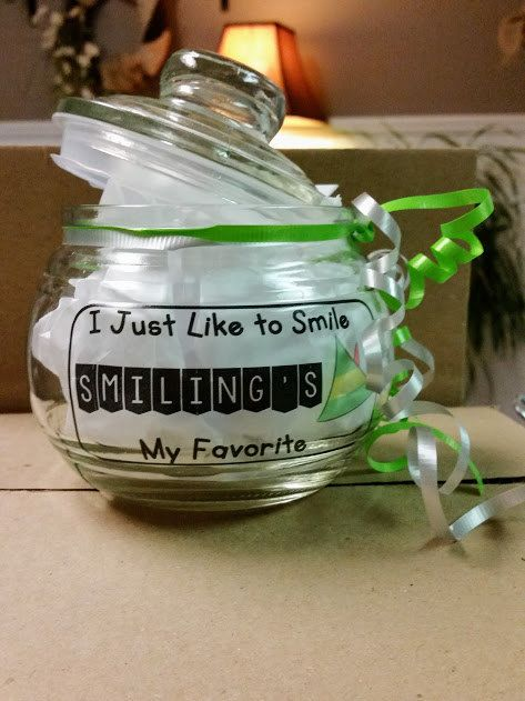 Elf Candy Dish / I Just Like to Smile Candy Dish / Candy Jar / Holiday Candy Jar / Elf Jar / Christmas Jar / Air Tight Jar by ClassOrganize on Etsy