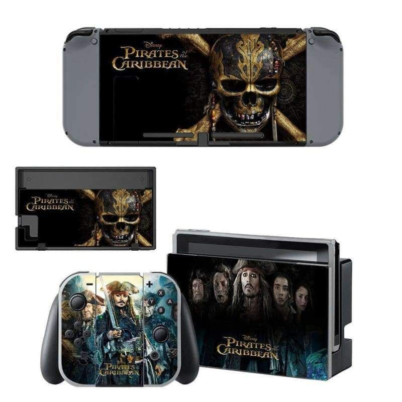 Pirates of the Caribbean Nintendo switch Skin in 2019 | Products