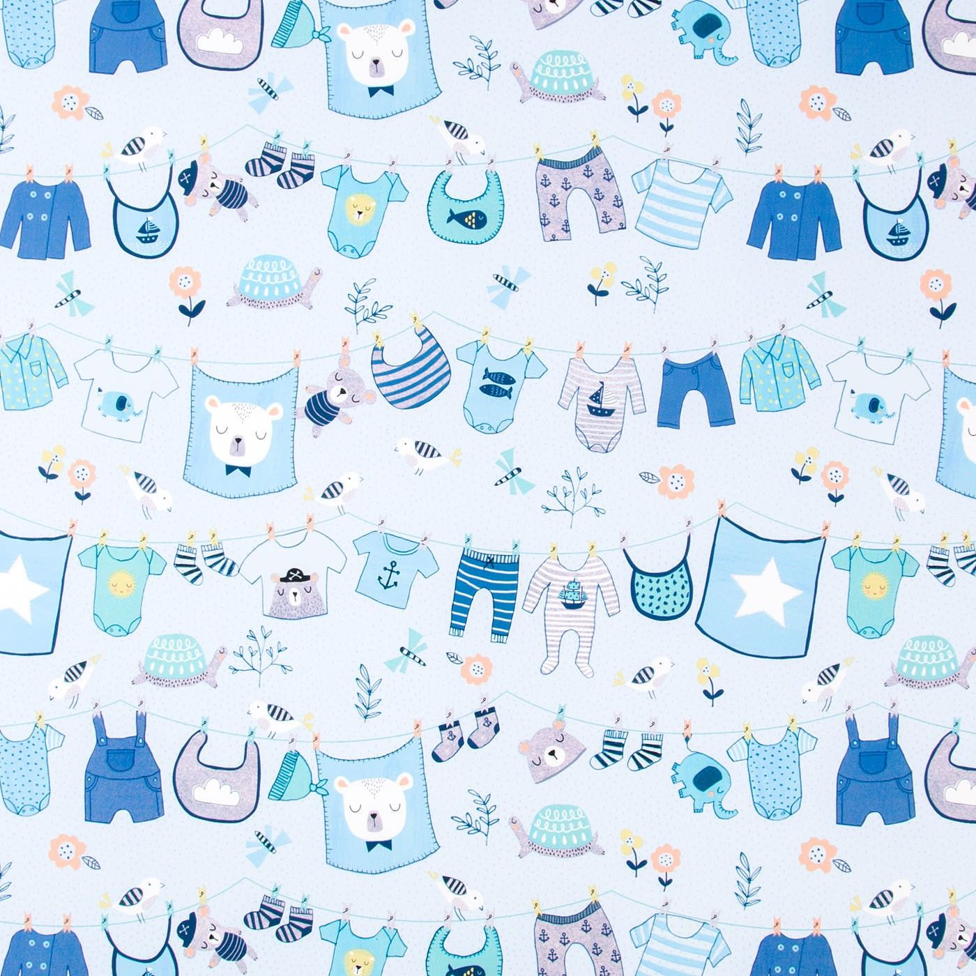 Welcome Their Sweet Baby Boy With This Cute Roll Wrap Adorable Baby Clothes And Accessories In Shades Of B Baby Boy Background Baby Boy Baby Girl Announcement