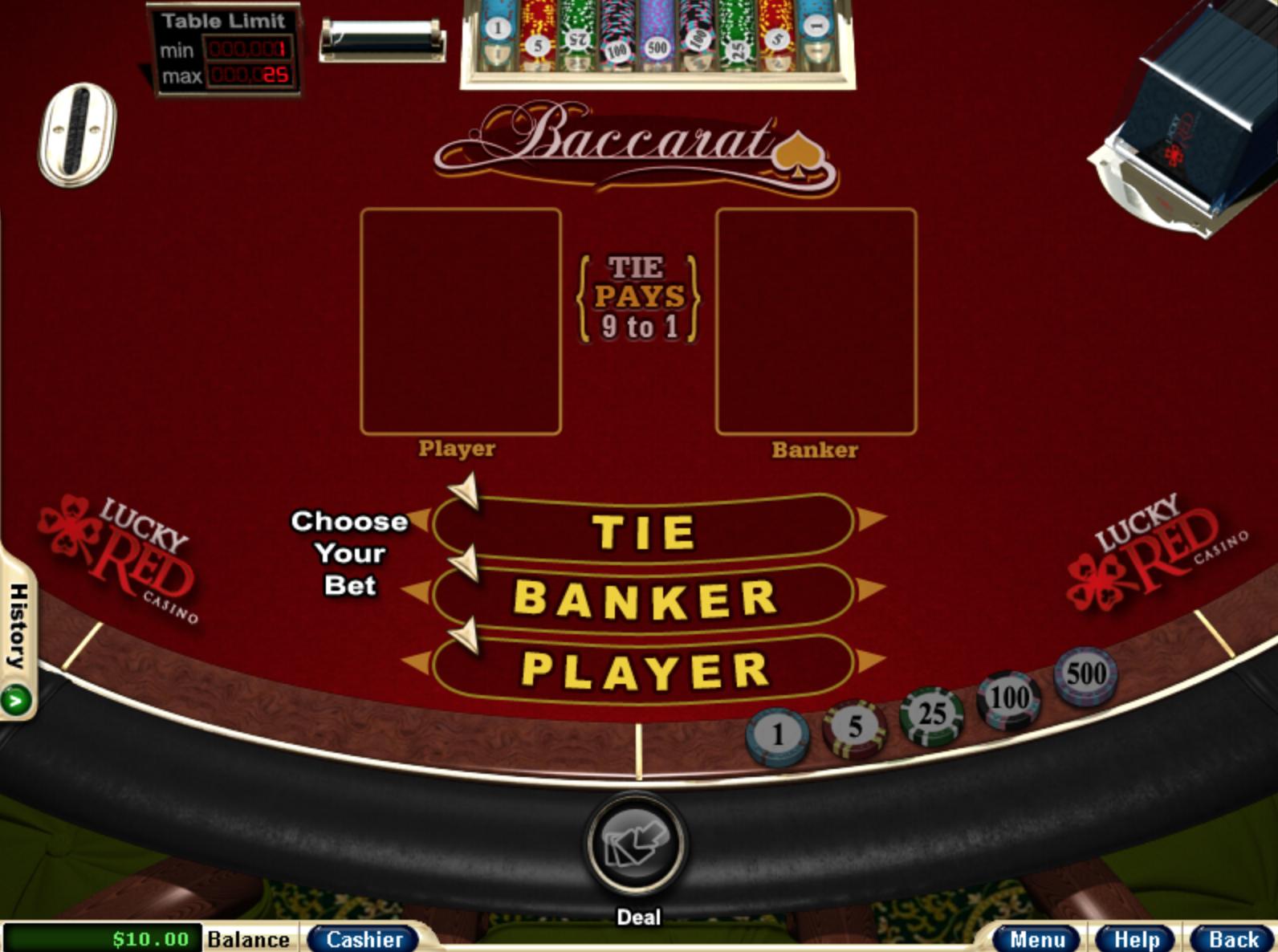 Baccarat casino gambling online virtual seminal hardrock casino