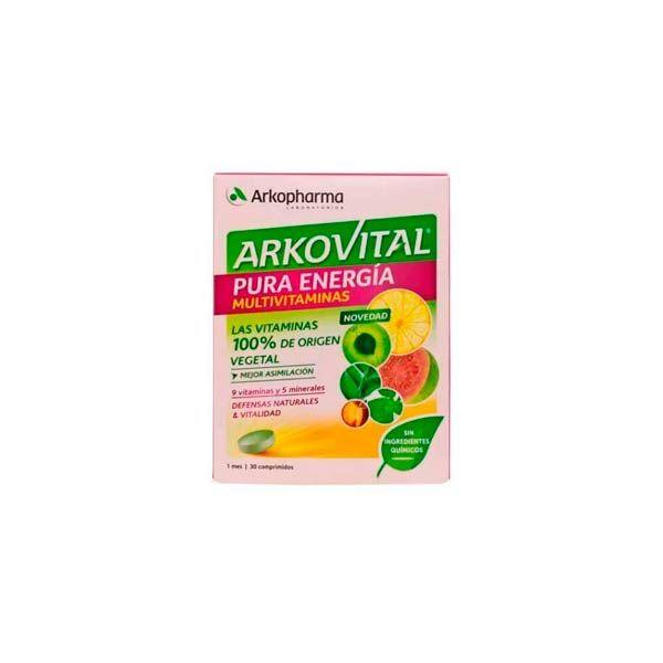 Arkovital pura energia ingredientes