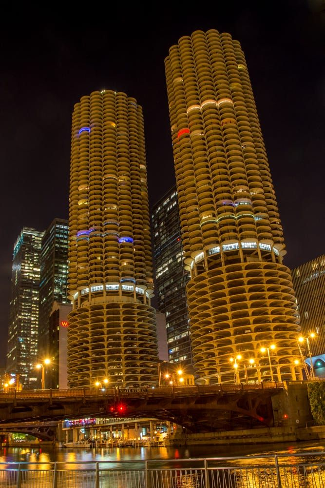 Marina City Towers, Chicago, IL. Pinned by