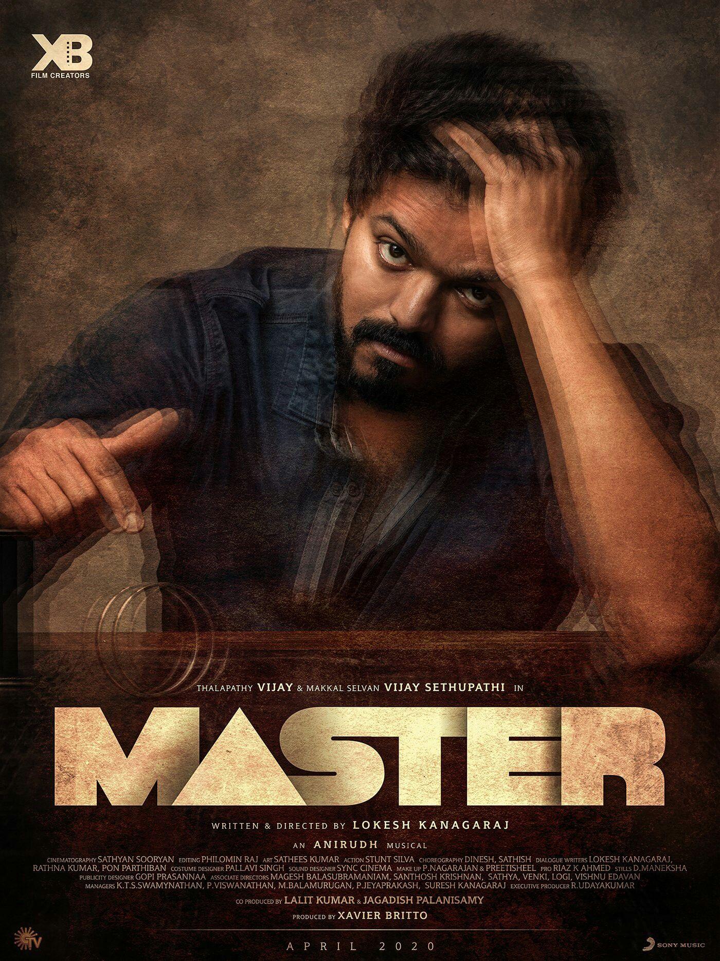 Vijay Master Movie First Look Poster Master Music Vijay Actor Tamil Ringtones