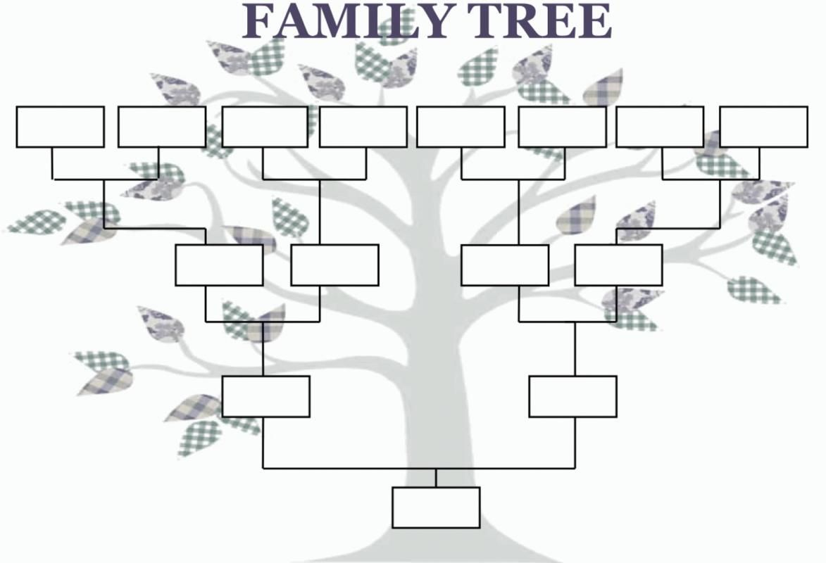 Family Tree Template With Images