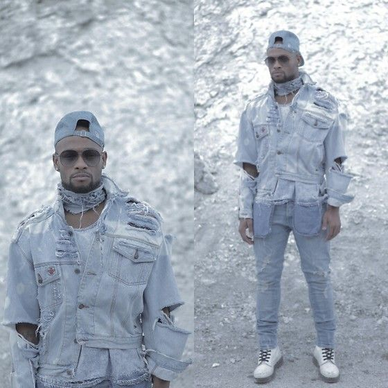 Get this look: http://lb.nu/look/8349717  More looks by Askia Abdull: http://lb.nu/abdull  Items in this look:  Dr. Martens Boots, H&M Jeans, Askia Abdull Denim Choker