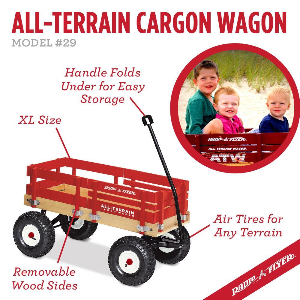 AllTerrain Cargo Wagon Radio flyer, Wagon, Beach wagon