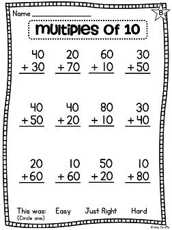 First Grade Math Unit 13 For 2 Digit Addition And Subtraction First Grade Math Worksheets First Grade Math 1st Grade Math Worksheets