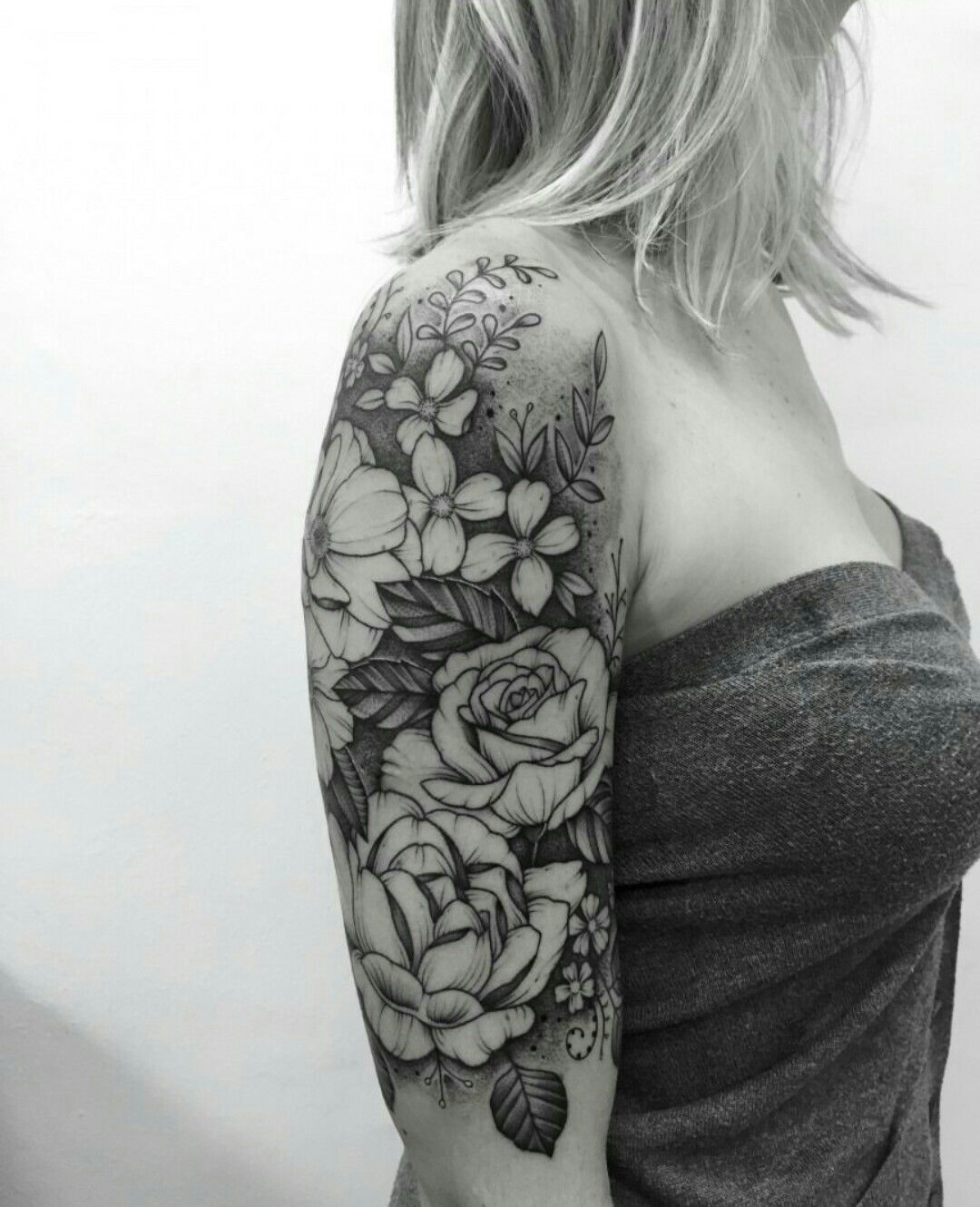 Pinterest Cnicolebbyxo With Images Floral Tattoo Sleeve Tattoo Sleeve Filler Tattoos