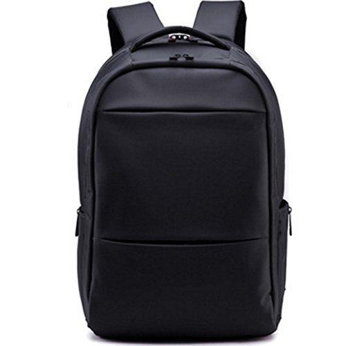 Laptop Bag Lightweight Daypack School Bag Bookbag College Backpack Black Upgrade -- Click image for more details.