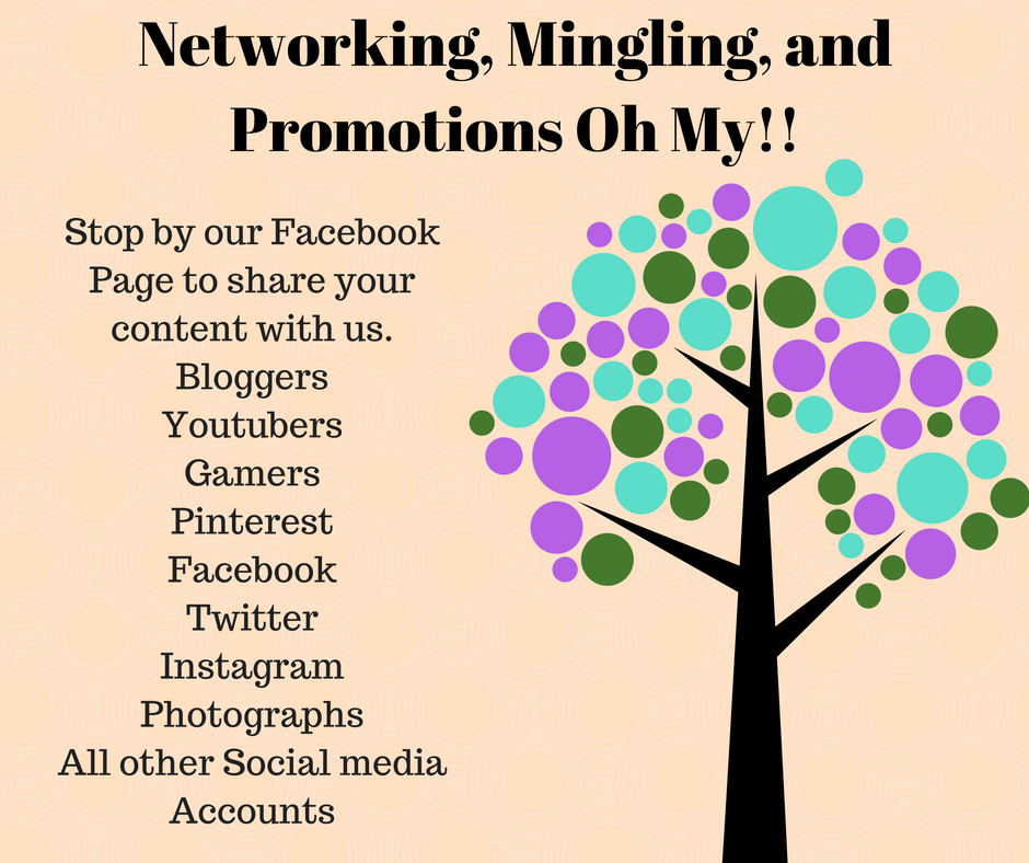 Networking, Mingling, and Promotions Oh MY