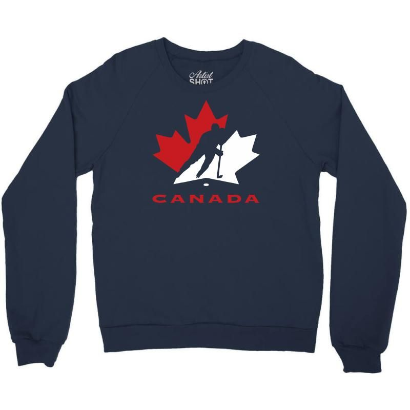 Hockey Canada Crewneck Sweatshirt In 2020 Sweatshirts Crew Neck Sweatshirt Graphic Sweatshirt