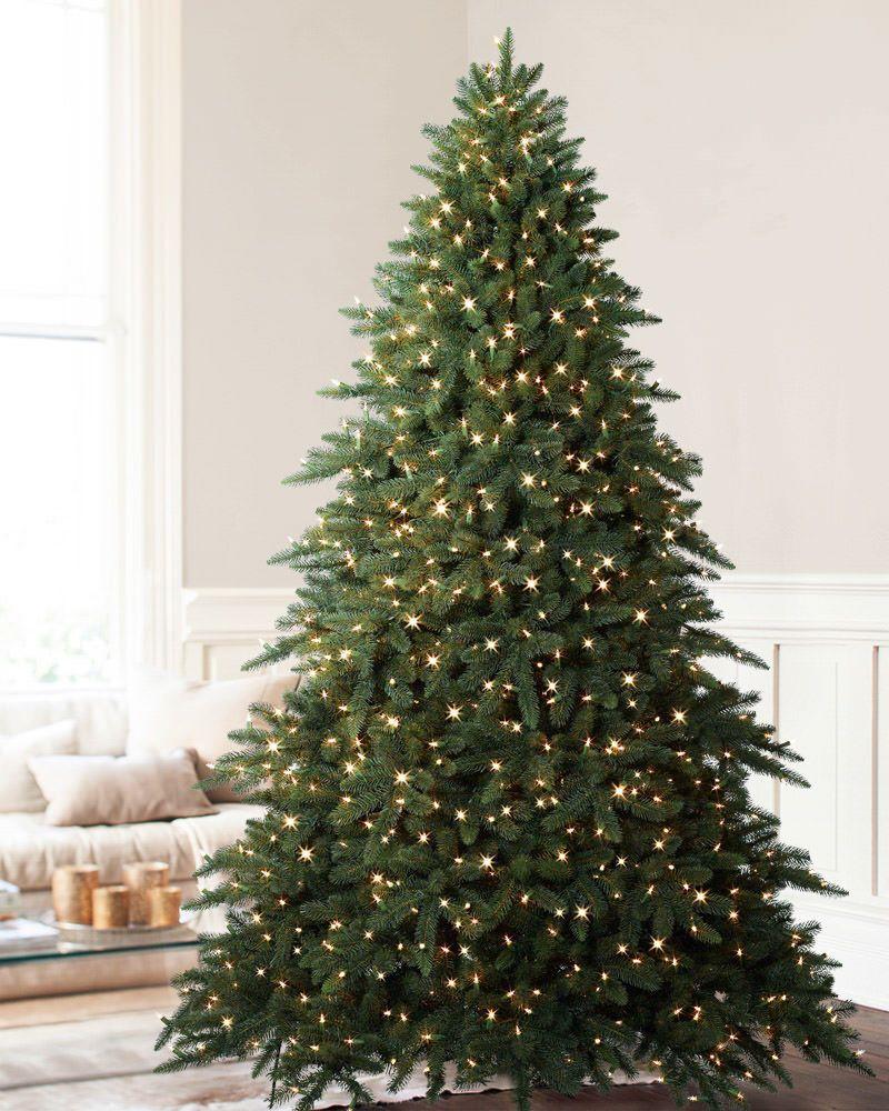 Aspen Estate Fir Artificial Christmas Tree Balsam Hill Cool Christmas Trees Best Artificial Christmas Trees Narrow Christmas Tree