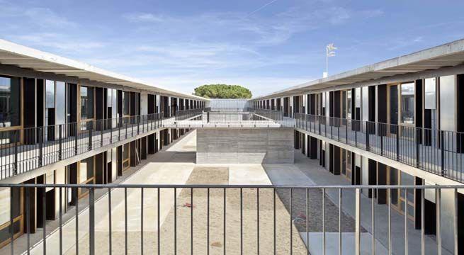 Residencia de estudiantes prefabricada en barcelona arq - Escuela de arquitectura de barcelona ...