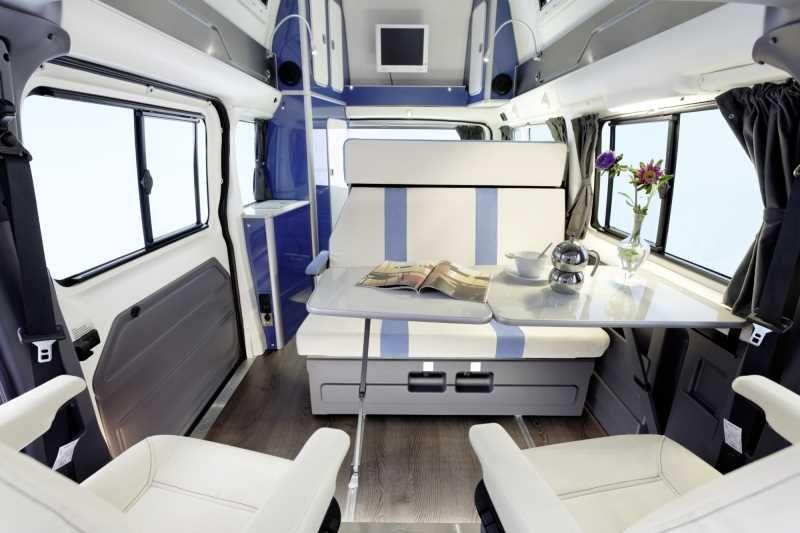 The Other Westfalia Aka The Nugget Expedition Portal Camper Interior Little Houses Sprinter Camper
