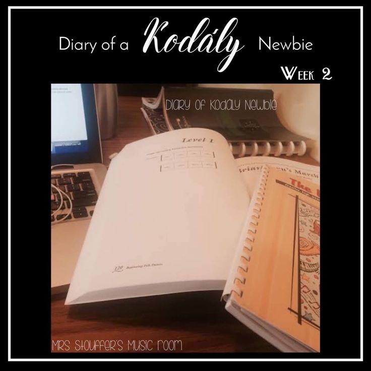 Latest Educational News Update: Diary Of A Kodály Newbie Week 2