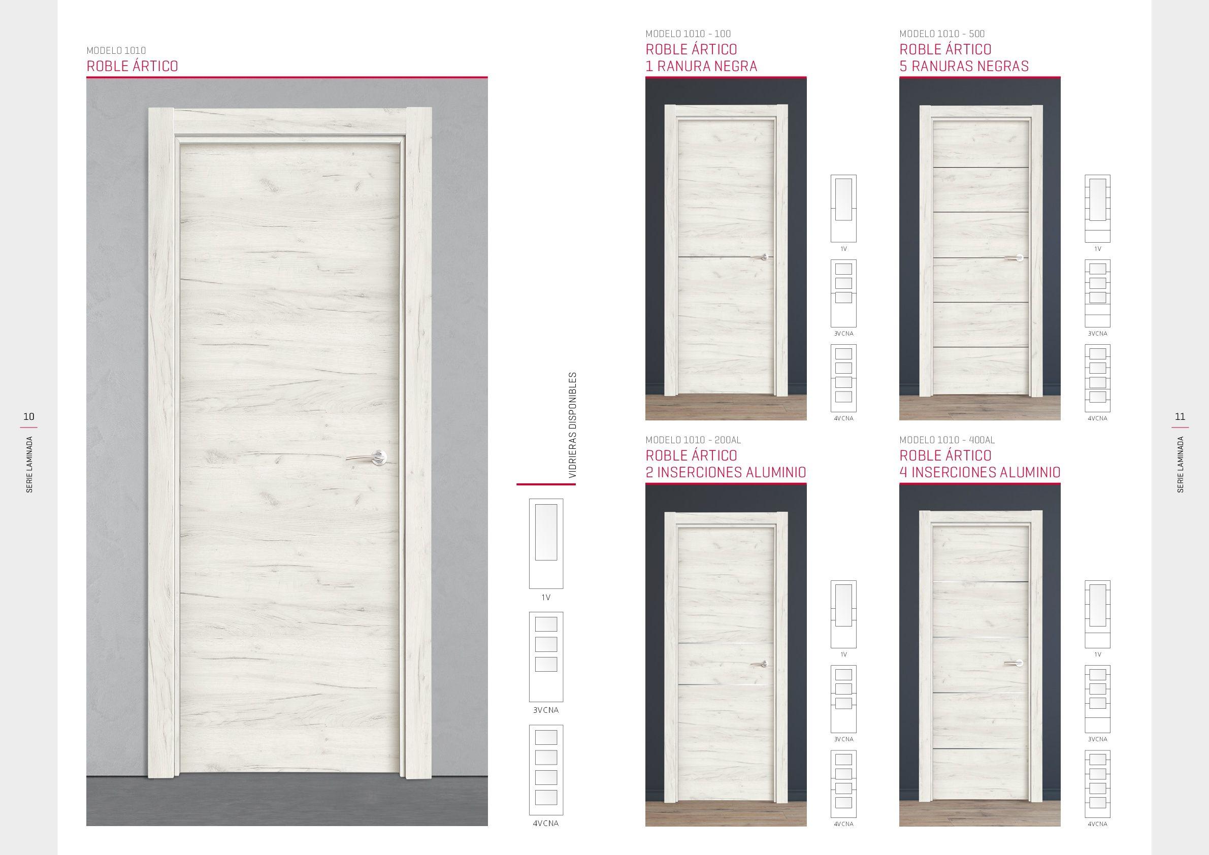 Catálogo - Puertas laminadas - Puertas Carsal | Puertas | Pinterest ...