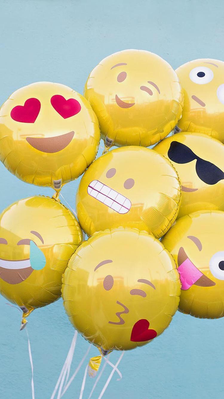 iPhone iPhone_wallpaper emoji Emoji balloon