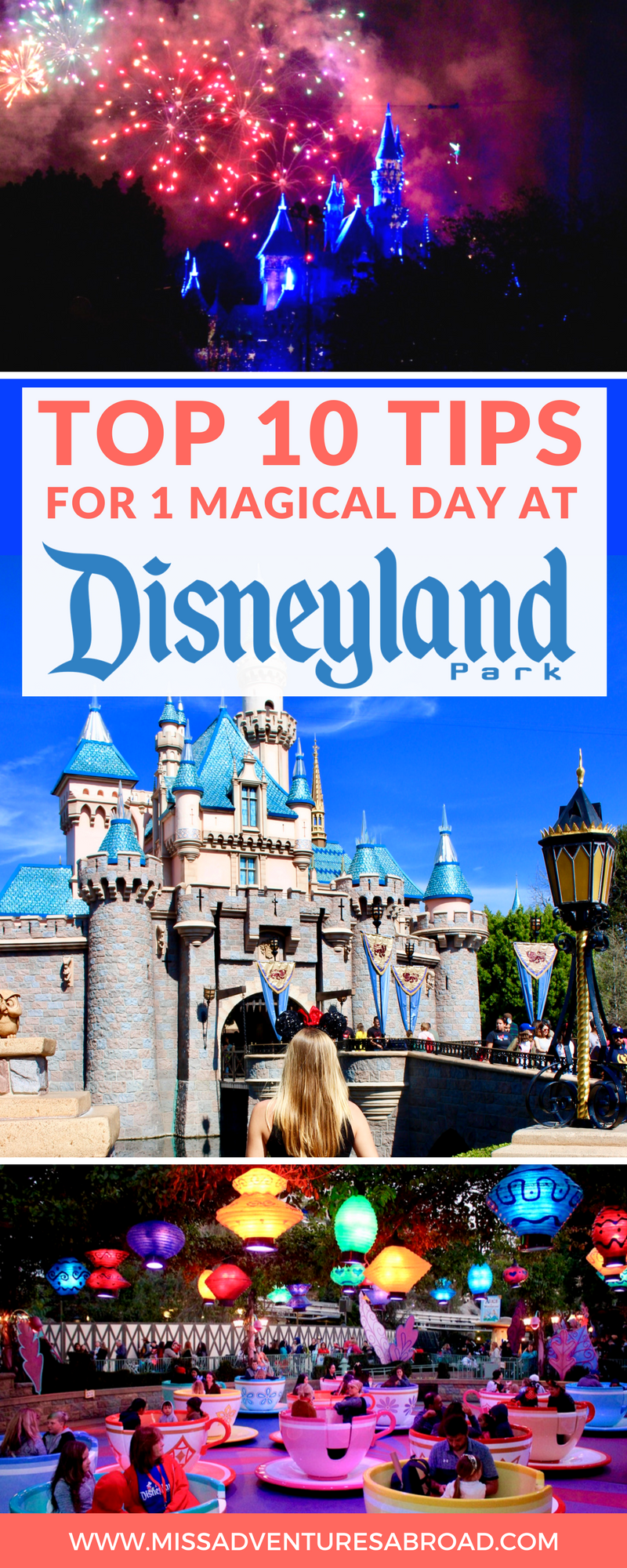 10 Tips For 1 Magical Day At Disneyland, California