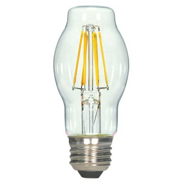Bt15 Med Base Led 4 5w Filament 120v By Satco S9268 Vintage Bulb Led Light Bulb Vintage Led Bulbs
